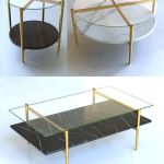 3d Mid Century Coffee Tables Cgtrader
