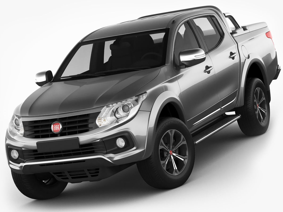 hight resolution of fiat fullback 2016 3d model