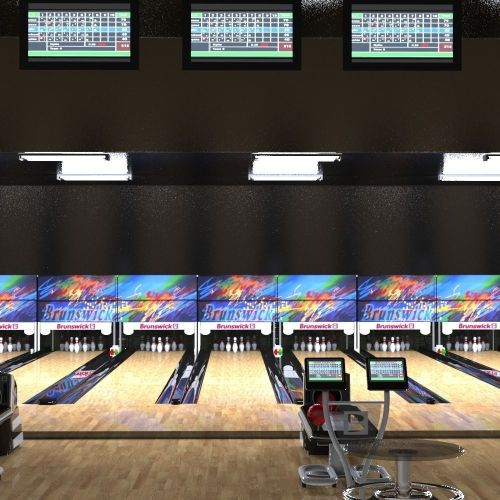 small resolution of  bowling alley 3d model fbx ma mb 3