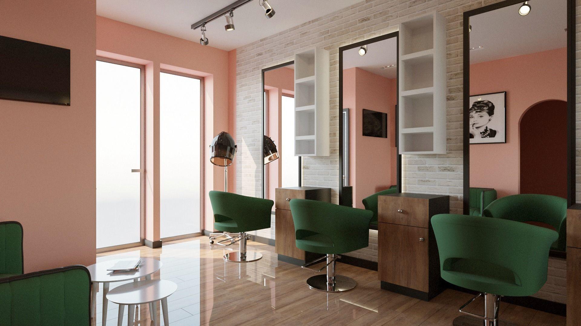 3D Modern Beauty Salon 2020   CGTrader