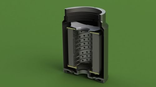 small resolution of mann pl270 disel fuel filter 3d model