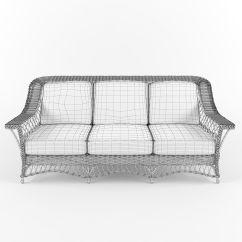 White Resin Wicker Sofa Parsons Style Table Sleeper Sofas Indoor Loveseats