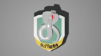 free slytherin logo for 3d printer