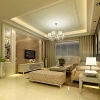 Modern Living Room 3D Model MAX - CGTrader.com