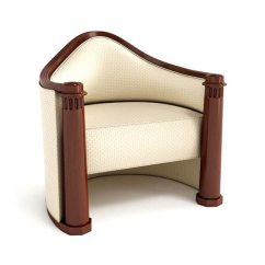 Vintage Arm Chair Covers For Sale In Trinidad White Armchair 44 Am122 3d Cgtrader