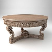 Coffee table 3D model | CGTrader