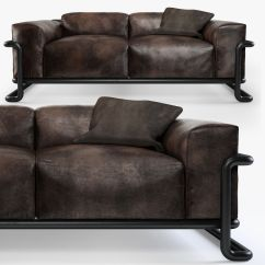 Halo Kensington Leather Sofa Joss And Main Sectional Huntington Cgtrader Thesofa