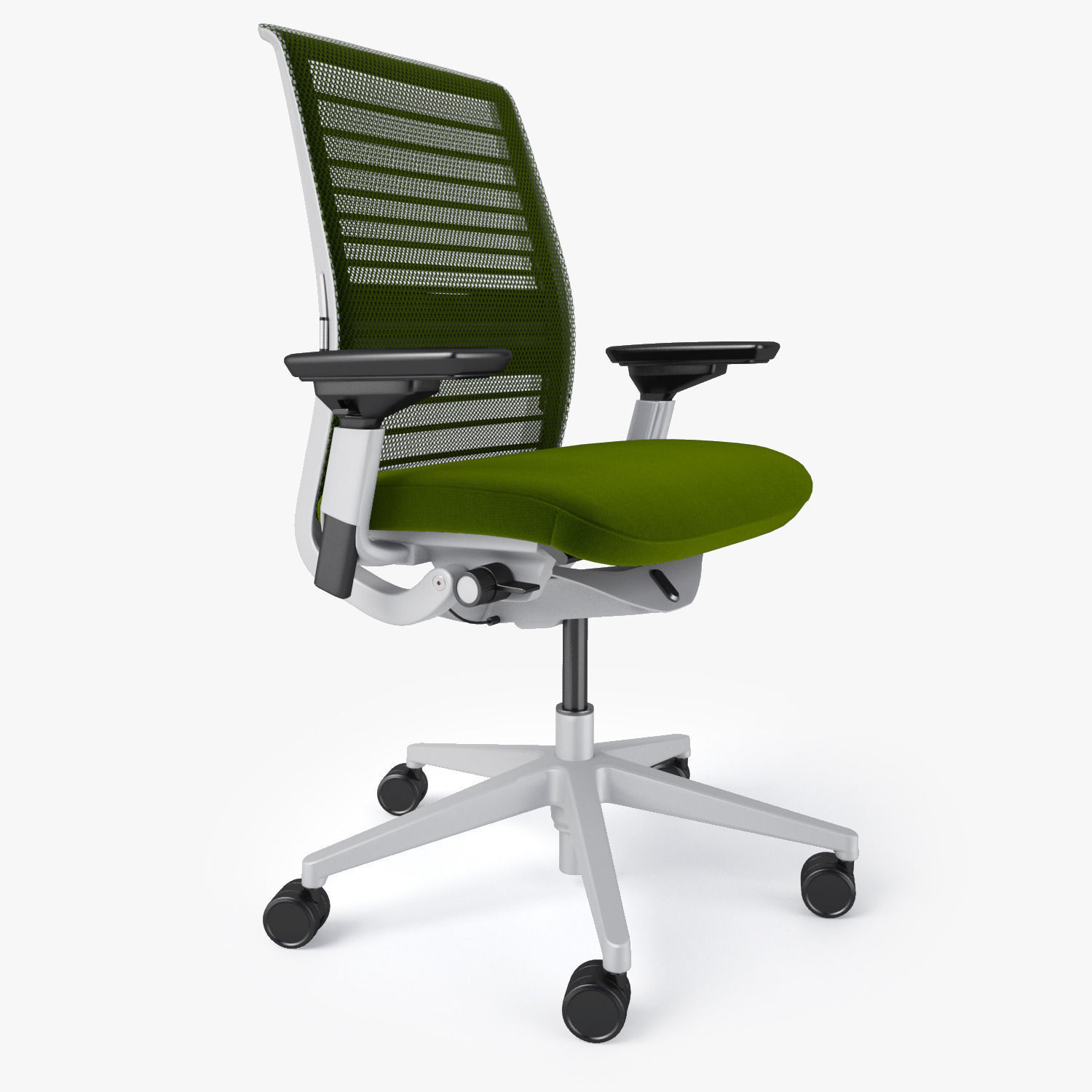Steelcase Chairs Steelcase Think Office Chair 3d Model Max Obj Fbx Mtl