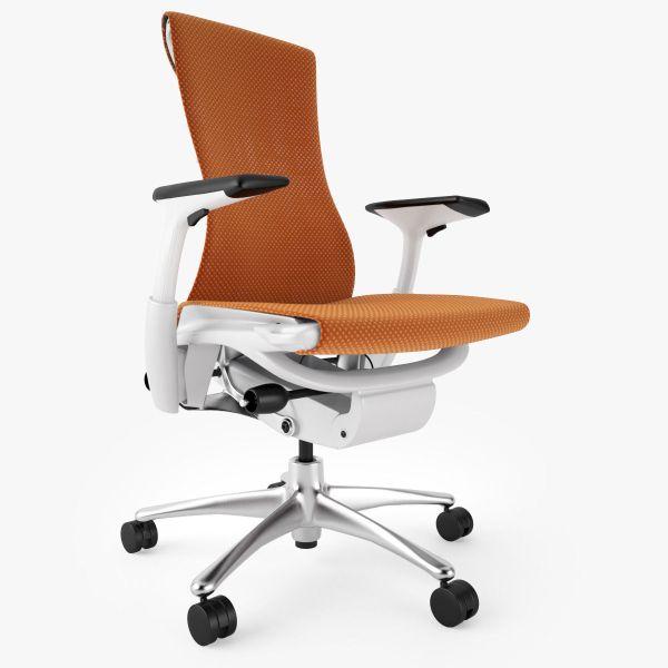 best ergonomic office chair Top 5 Best Ergonomic Office Chairs 3D Model MAX OBJ FBX