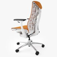 Top 5 Best Ergonomic Office Chairs 3D Model MAX OBJ FBX ...