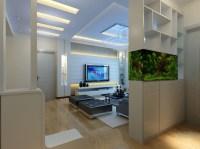Modern Living Room 3D Model MAX