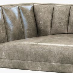 Fulham Sofa Rh Rust Colored Leather Sectional Restoration Hardware Thesofa