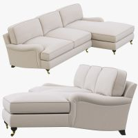 Restoration Hardware English Roll Arm Upholstered Right ...