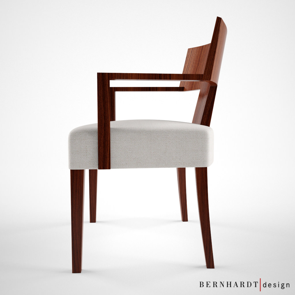 chair design model cast aluminum chairs bernhardt alder 3d max cgtrader