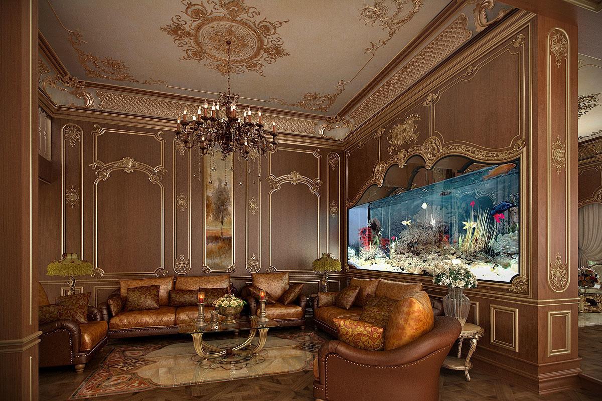 classic living room 3D Model MAX  CGTradercom