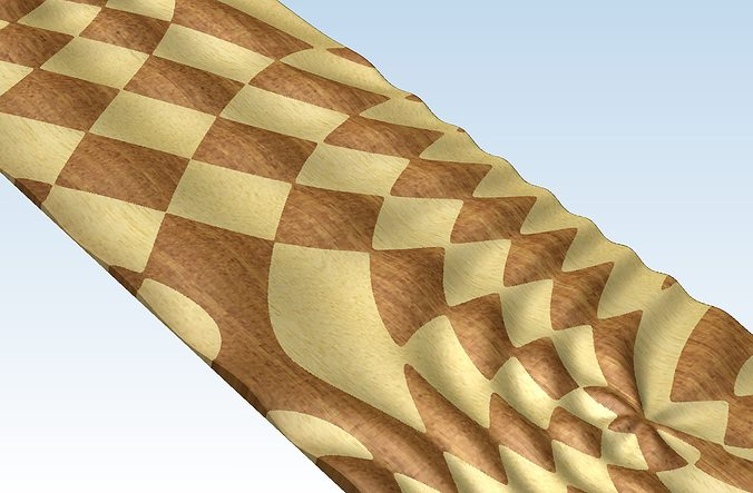 3D Model Other Relief Panel For Artcam Voratinkliai