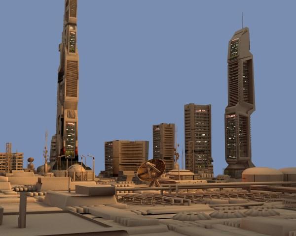 Futuristic Bunker Scene Free Vr Ar Poly 3d Model - Exploring Mars