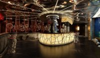 3D model Restaurant with High-end Wall Decor | CGTrader