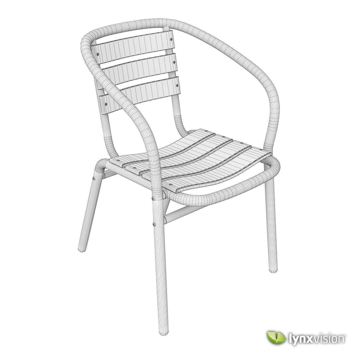 outdoor aluminum chairs office that recline collection 3d cgtrader model max obj mtl fbx c4d lwo lw lws lxo lxl