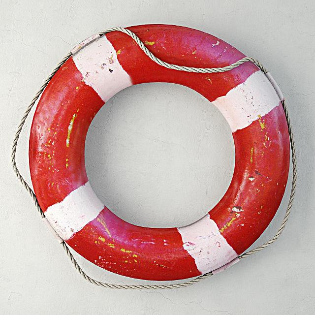 1950s nautical life preserver