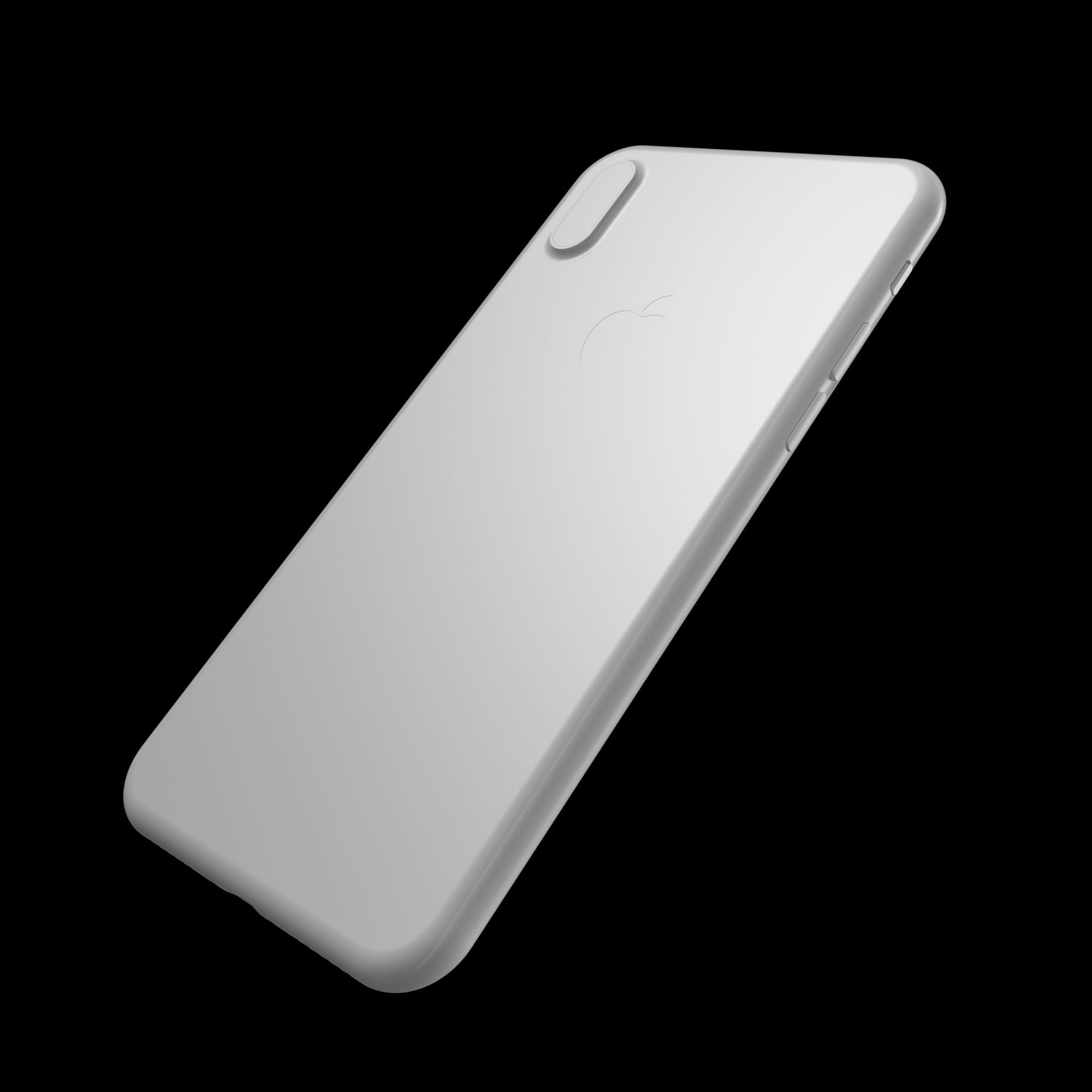 hight resolution of  apple iphone x for cases 3d model stl 4