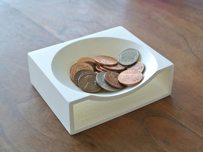 Coin Tray 3D printable model  CGTrader