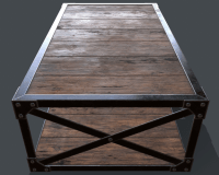 Industrial Style Coffee Table - Home Design