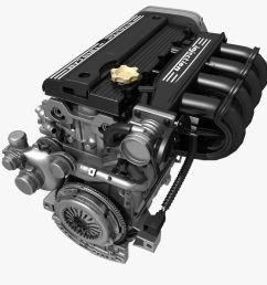 car 4 cylinder engine 02 3d model cgtradercar 4 cylinder engine 02 3d model [ 1200 x 1200 Pixel ]