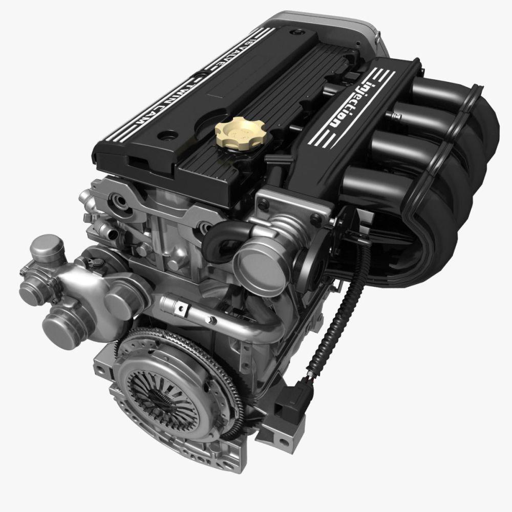 medium resolution of car 4 cylinder engine 02 3d model cgtradercar 4 cylinder engine 02 3d model