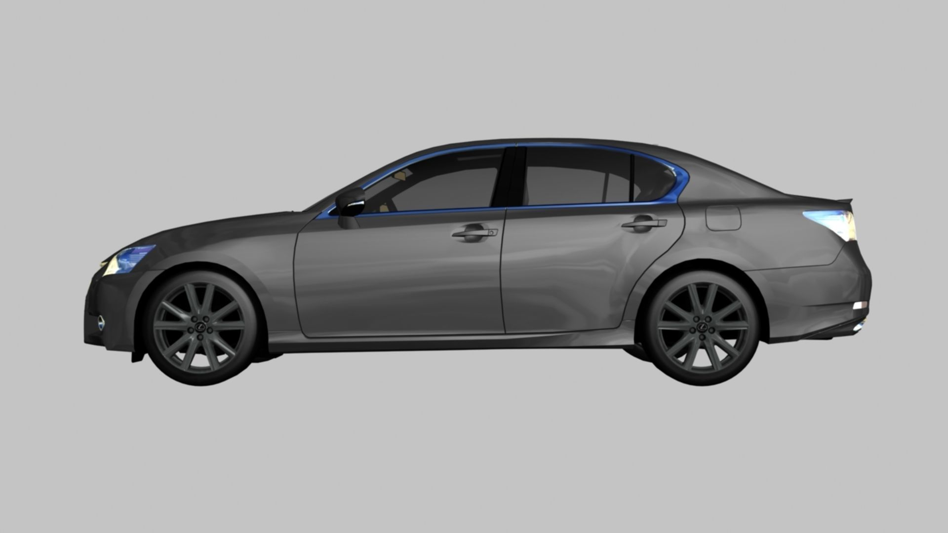 Lexus GS350 F Sport 3D model