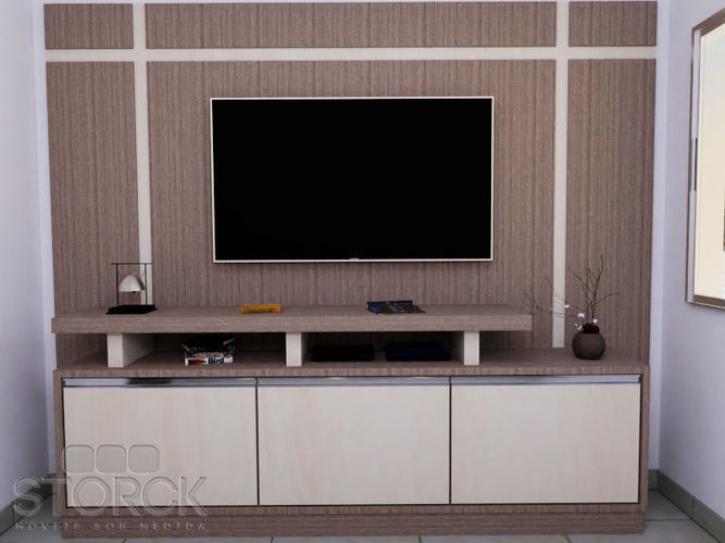 3D TV PANEL TV STAND RACK CGTrader