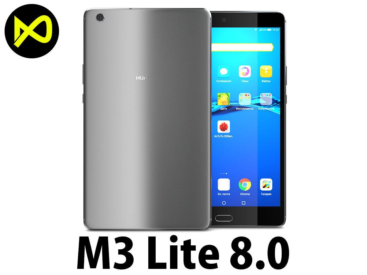 3D Huawei MediaPad M3 Lite 8   CGTrader