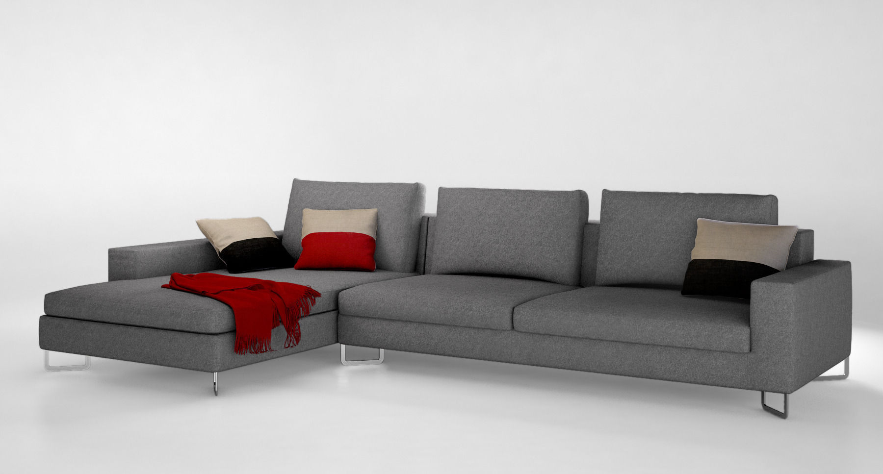 Big Sofa Vincent Molteni Sofa Paul Sofa With Chaise Longue By Molteni C