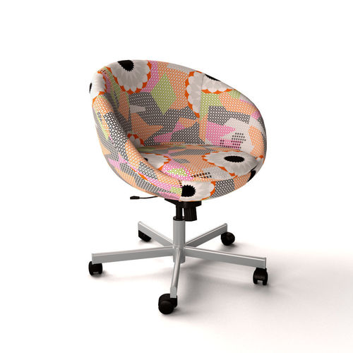 ikea swivel chair high toddler skruvsta ankarsvik 3d cgtrader model