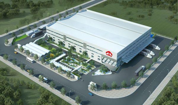 factory landscape 3d model cgtrader