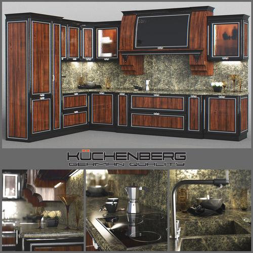 Kuche 3d Modell Gallery Of Custom Kitchen Dmodell Kche Im