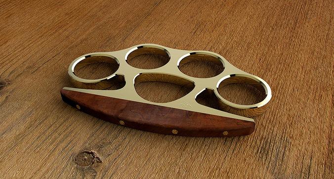 3D model Brass knuckles  CGTrader