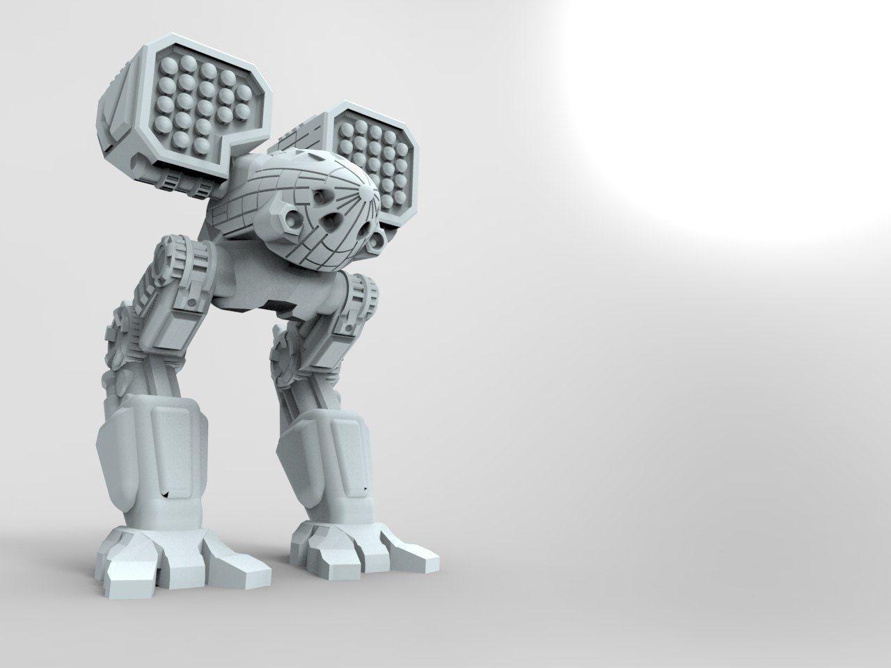 mech battletech catapult 3d