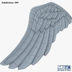 Eagle Wing Diagram Jeep Jk Sub Wiring Wings Gold V 1 3d Model Max Obj Mtl Fbx