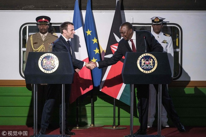 Kenya and France seal deals as Macron attends environmental meet -  Chinadaily.com.cn