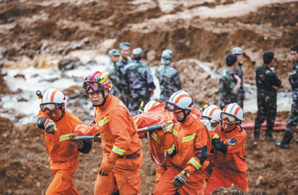 Landslide death toll rises to 36, 15 missing 2