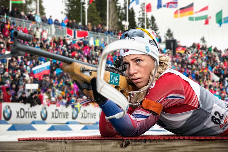 Bilderesultat for stafett skiskyting damer