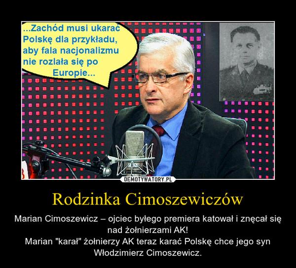 Znalezione obrazy dla zapytania Demotywatory-Cimoszewicz