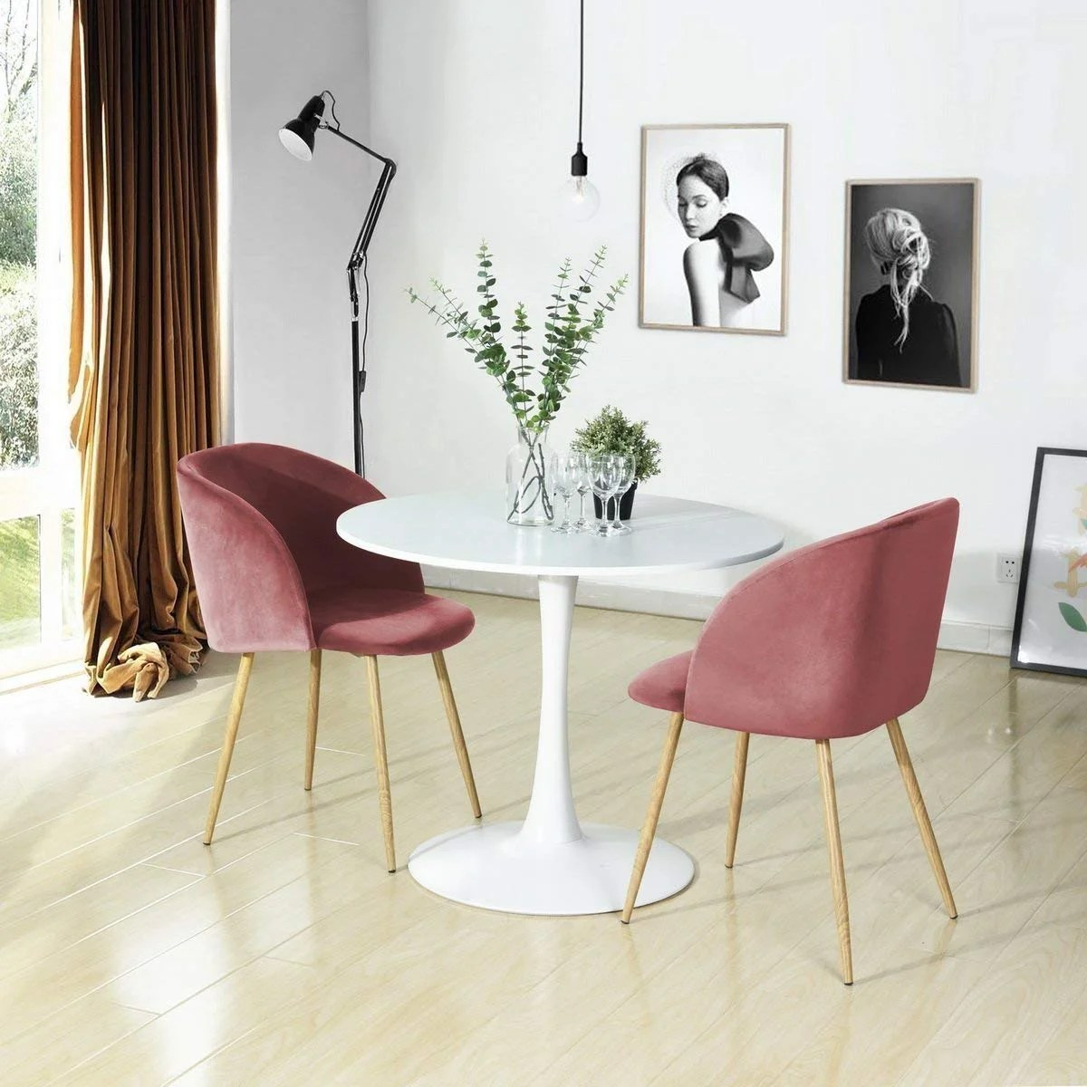 amazon com living room furniture decorating designs best pieces to buy on pink velvet dining chairs pin it