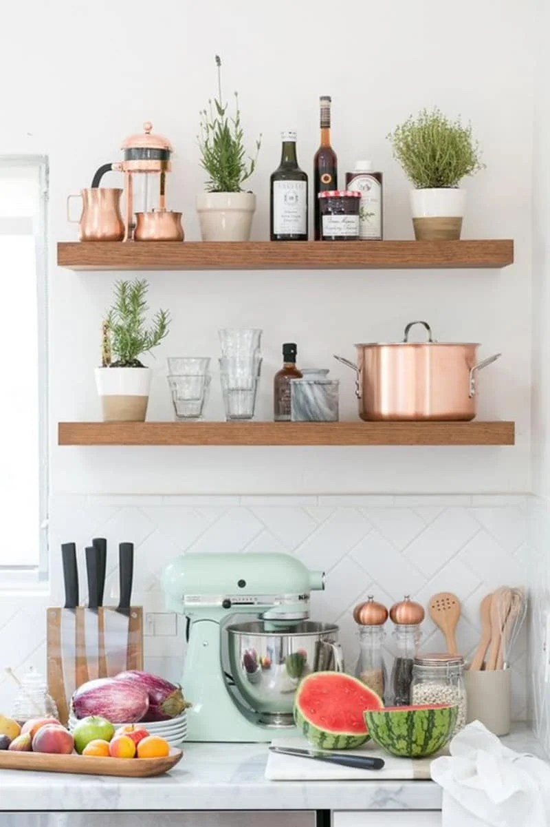 kitchen shelf ideas target furniture 28 seriously cool open shelving we found on the internet domino share this story
