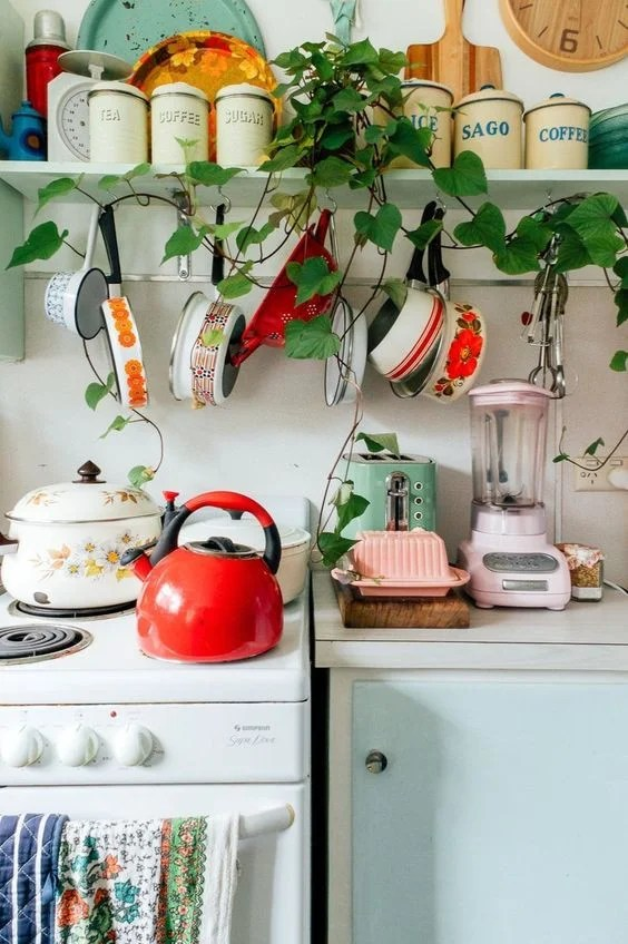 colorful kitchen accessories large rug appliances to brighten room share this story