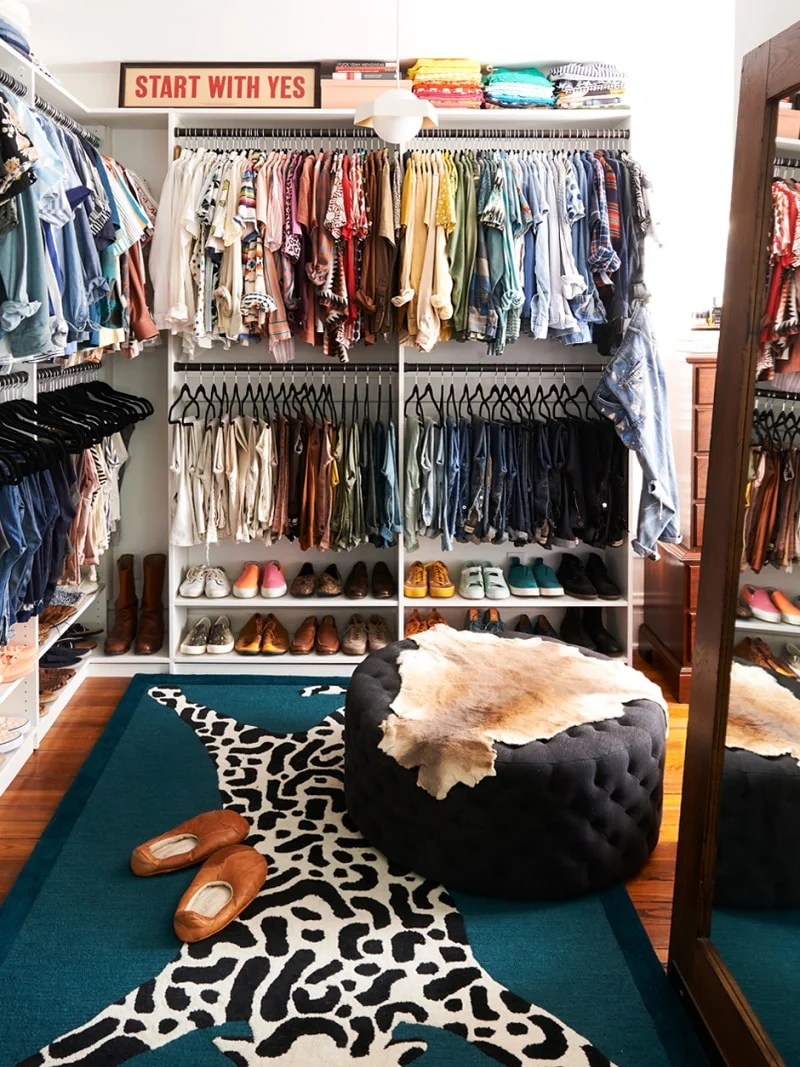 turn a spare room into a walk in closet