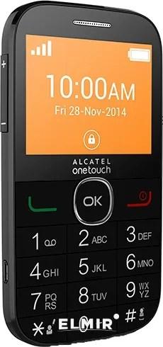 Мобильный телефон Alcatel One Touch 2004G Black купить недорого: обзор. фото. видео. отзывы ...