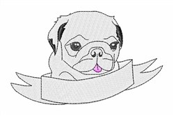 Tiny Pug Embroidery Designs, Machine Embroidery Designs at EmbroideryDesigns.com
