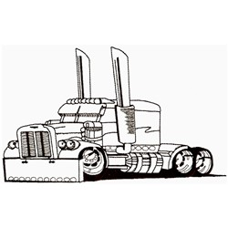 Truck Outline Embroidery Designs, Machine Embroidery